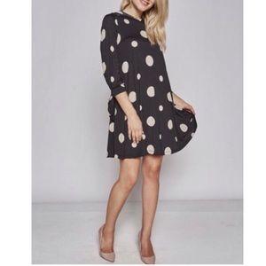Dresses & Skirts - Fun Print Polka Dress